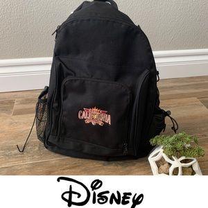 Disney California Adventure Black Backpack
